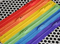 rainbow zipper, diy quiet book ideas, color, quiet books, quiet book diy, book pages, rainbow wall art, busi book, quiet book cover
