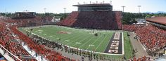 Reser Stadium, home to the Oregon State Beavers. PAC-12