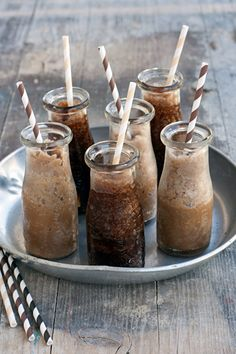 Iced Coffee. The Italian Way. Such a beautiful way to serve...