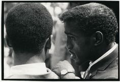 Sammy Davis, Jr. at The March on Washington, 1963.