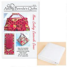 Home Cooking Casserole Cover Pattern with Insul-Bright