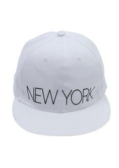 Doublju Mens New york white snapback #doublju