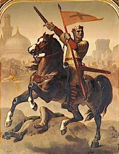 Godfrey_of_Bouillon | Leaders of the First Crusade: Godfrey of Bouillon