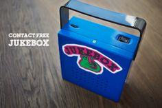 Juke Box per bambini http://scalotta.tumblr.com/post/18998879764/contact-free-jukebox