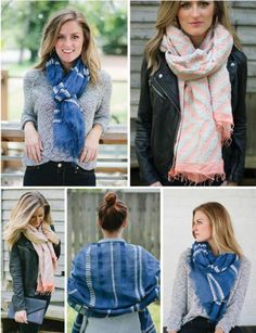 One of our favorite gifts that give back, the gorgeous @livefashionable scarves from Ethiopia, are now out with some limited edition designs at fantastic prices.