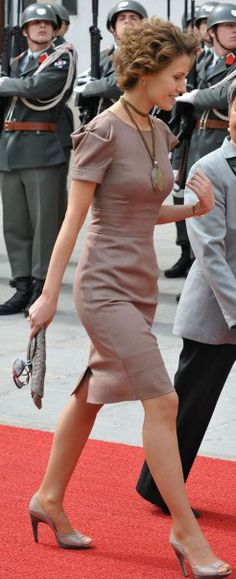 Asma al-Assad the first lady of Syria