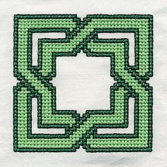 Waldorf ~ 4th grade ~ Handwork ~ Cross Stitch Pattern