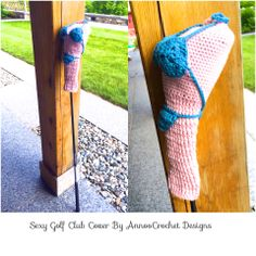 Father's Day Bodacious Golf Club Free Tutorial By AnnooCrochet Designs