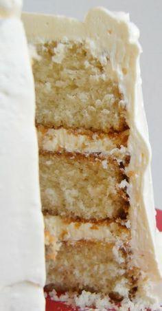 buttermilk cake, amaretto cake
