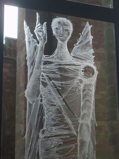 Engraved Angel, Coventry Cathedral