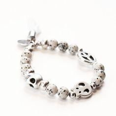 bracelet, skull, peace, jade www.cherie-sheriff.com