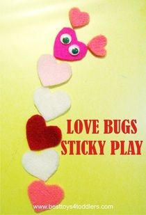 Love Bugs Sticky Pla