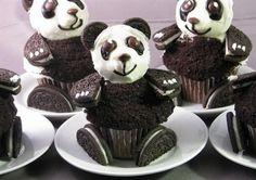Panda cup cakes!