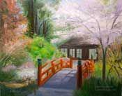 reminds me a bit of Monet's bridge.
