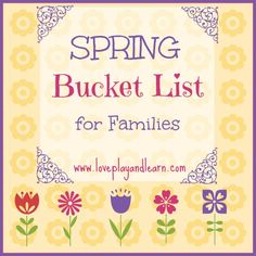 10 Fun Family Activity Ideas for Your Spring Bucket List!