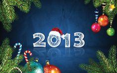 Happy New Year, 2013 holiday, year 2013, window, happi, wallpapers, christma, 2013 wallpap, new years, 2013 groetj