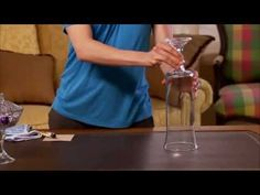 Hurricane Vases are extremely versatile and can be incorporated into almost any decor theme, but at most stores they are expensive! Watch this Hurricane Vase Craft Tutorial, then grab some items from Dollar Tree, and you'll be decorating in no time!
