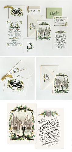 hand drawn invitations