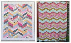 Herringbone Quilt Pattern & Tutorial