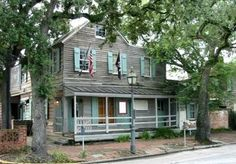 The Pirate's House - Savannah, Georgia - one of the more haunted locations in a city noted for its haunted places.