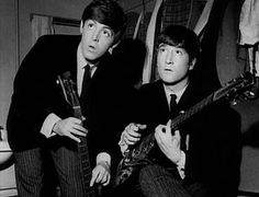McCartney and Lennon