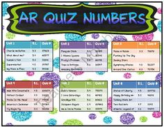 Reading street 2013 AR quiz #s and Lexile. 3rd grade