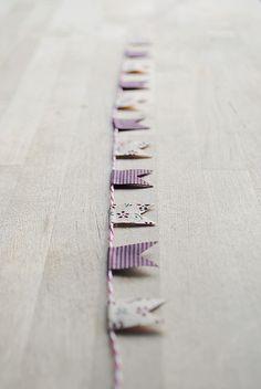 fabric tape garland