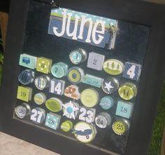 Clean & Scentsible: June Calendar