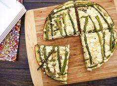 Asparagus Blue Cheese Frittata