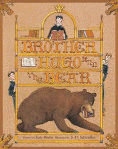 JJ STORIES BEE. After painstakingly handcrafting a replacement copy of a library book, a medieval monk tries to protect it from a hungry bear with a taste for literature. Includes historical note on illuminated manuscripts.