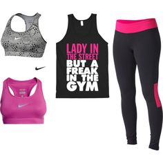 """My workout outfit"" by tiffyj1 on Polyvore"