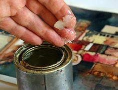Watercolor Finishing, Varnishing and Preservation using beeswax