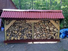 I dream of a well-stocked woodshed.  This one by Murmur Creek Observatory