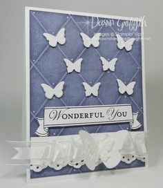 simpli score, butterfli card, butterflies, card video, backgrounds, stampin, grid card, butterfli grid, beauti card