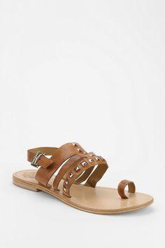 Sol Sana Studded Toe-Hold Sandal