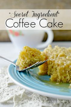 Coffee Cake Recipe F