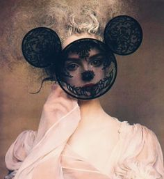 Lace mask. Fantastic.