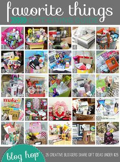 25 Bloggers Holiday #Gift Guides  Giveaways at TidyMom.net #25favthings