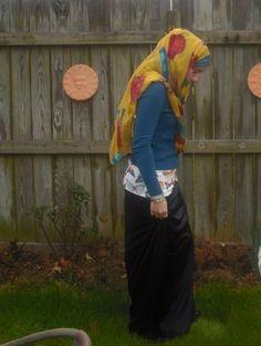 bright hijab, hijab style