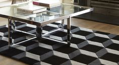 ACHICA | Plantation Rug Co  Beautiful    It's a 3D rug.