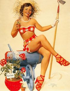 garden - pin-up-girls Photo