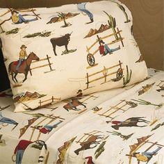 Sweet Jojo Designs Wild West Cowboy Bedding|Boys Western Theme Bedding Set|Cowboy Kids Bedding