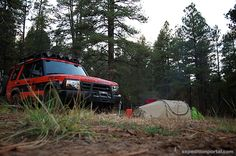 #ARB Ground #Swag photo spotted in a Expedition Portal article. #overlanding #camping #landrover #tent