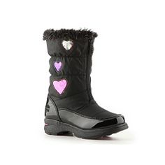 Totes Heartful Girls Toddler & Youth Snow Boot