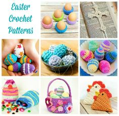 Free Easter crochet patterns  #crochet #Easter #patterns #free