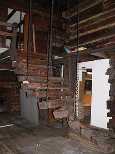 architectur, reclaim, staircas, c1873, scarecrows