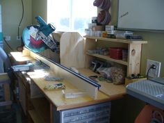 Succesful sliding miter saw dust colection? - by b2rtch @ LumberJocks.com ~ woodworking community