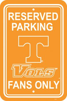 RESERVED FOR TN VOLS FANS!
