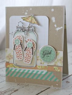 The Good Life Card by Michelle Wooderson for Papertrey Ink (May 2012)