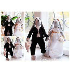 Выкройки кукол тильда жених и невеста